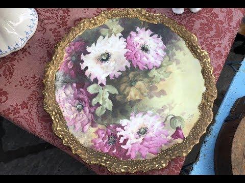 Прекрасное Прошлое ! Блошиный рынок! Коллекционирование Барахолка Антиквариат  Фарфор № 2 Флоренция photo