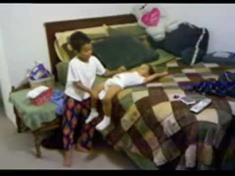 Brother Diaper Change - YouTube