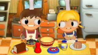 Sandwich de Atún para merendar con Telmo y Tula, dibujos para niños
