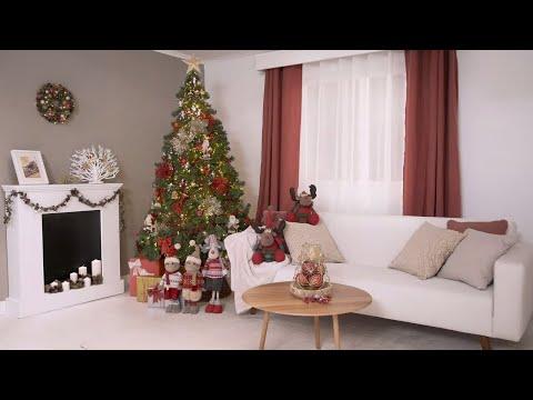 Tendencia navideña rojo y dorado – LEROY MERLIN