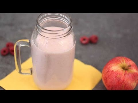 Milkshake pommes-framboises et Häagen-Dazs