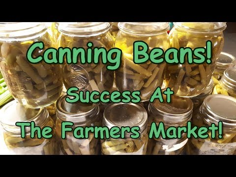 Canning Beans & Crowing Roosters