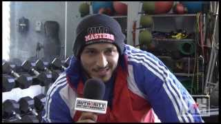 UFC 170 - Yosdenis Cedeno Entrevista
