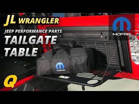 Mopar Tailgate Table for Jeep Wrangler JL