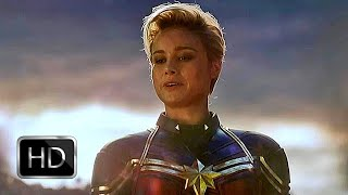 Fight Scene: Captain Marvel Carries Gauntlet | Avengers: Endgame (2019) (HD)