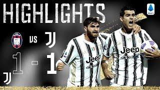 Crotone 1-1 Juventus | Morata Equalises for Juventus! | Serie A Highlights
