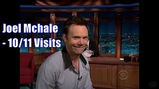 Joel McHale - Mocks & Impersonates Craig Humorously - 10/11 Visits In Chron. Order [Mostly 360ish]