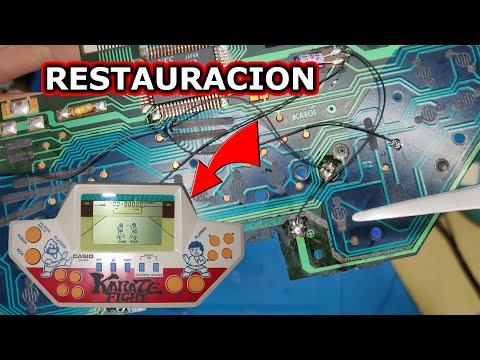 REPARACION Y RESTAURACION DE CASIO KARATE FIGHTER