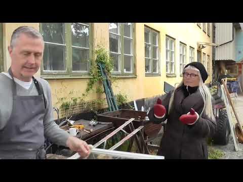 Fönsterrenoveringens dag - byta och kitta glas