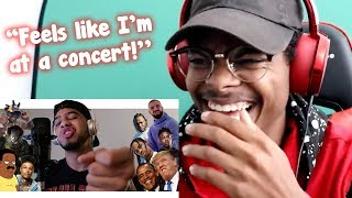 """People REACT to """"Hit Rap Songs in Voice Impressions!"""""""