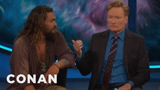 Conan Drinks A Pint With Jason Momoa & The Cast Of Aquaman  - CONAN on TBS