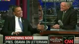 Obama To Letterman: