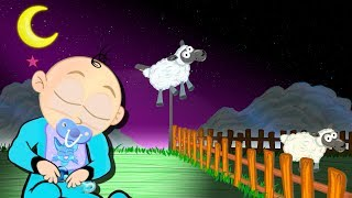 Counting Sheep To Sleep Bedtime Cartoon - Lullaby Soft Song Music Lullabies