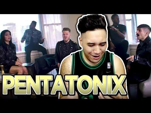 Pentatonix - New Rules x Are You That Somebody? REACTION!!! (Dua Lipa x Aaliyah)