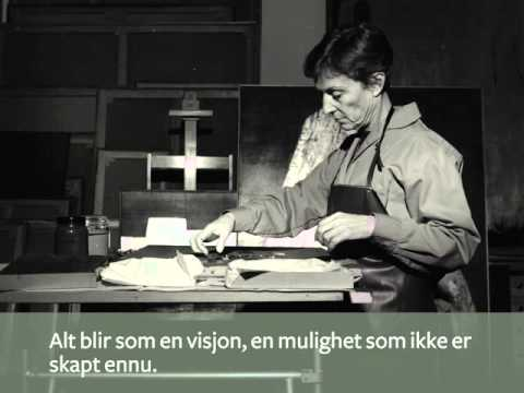 «Anna-Eva Bergman. Grafisk univers» i Museet for samtidskunst
