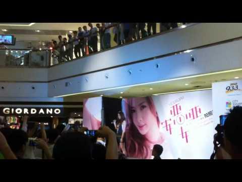 安心亚 - 我可以很勇敢 (Live at City Square Mall 28-10-2011)
