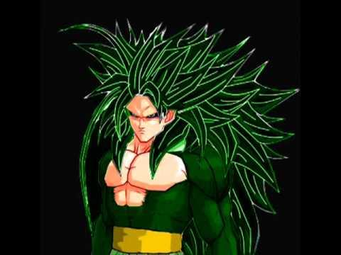 Hình ảnh 10 cấp Super Saiyan của Songoku