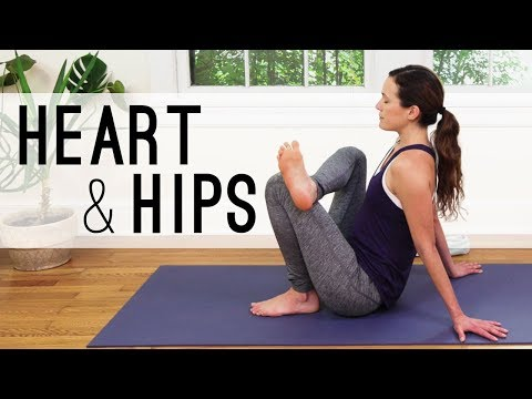 Heart And Hips Practice  |  Hands Free Yoga   |  Yoga With Adriene
