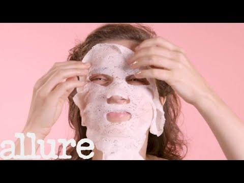 We Tried This Lifting Sheet Mask Made of Lace | Allure