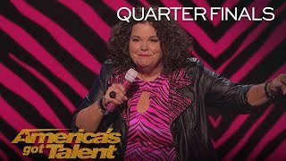Vicki Barbolak: Hilarious Comedian Chats About Being 'Trailer Nasty' - America's Got Talent 2018