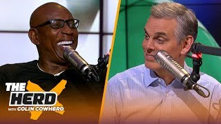 Eric Dickerson joins Colin to talk Lamar Jackson, Rams playoff hopes | NFL | THE HERD