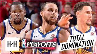 Kevin Durant, Stephen Curry & Klay Thompson Game 1 Highlights vs Rockets 2018 Playoffs WCF - EPIC!