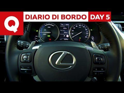 Lexus NX 300h restyling: le vostre domande - Diario di Bordo: Day 5