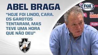 ABEL AO VIVO! Técnico do Vasco fala após derrota para o Flamengo