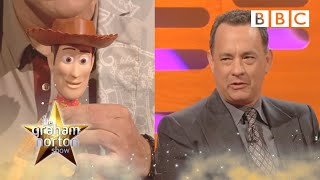 Can Tom Hanks recognise his own Woody voice? | The Graham Norton Show -  BBC