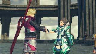 Xenoblade Chronicles 2 -  Meeting Shulk and Fiora