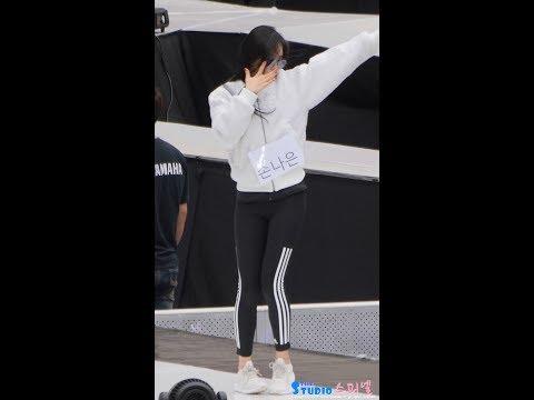 171022 에이핑크 '파이브' 손나은 사복 리허설 직캠 Apink Naeun Rehearsal fancam - Five (부산 원아시아 페스티벌) by Spinel