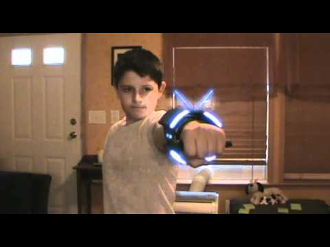 Cowboys and Aliens Wrist Gun Test (After Effects) - YouTube