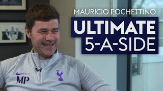 Who is the best player of all-time - Messi or Maradona? | Mauricio Pochettino's Ultimate 5-A-Side