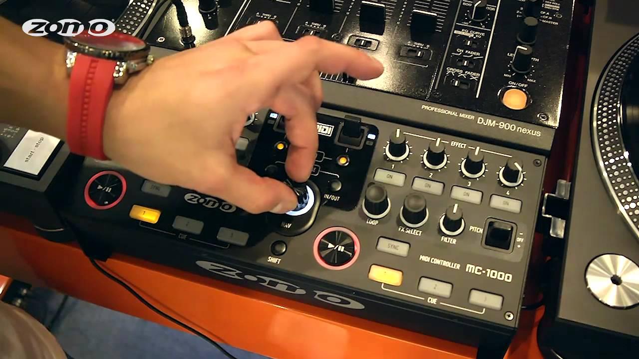 Zomo Midi Controller : zomo mc 1000 dj midi controller introduction by mr e perfect for djm 800 djm 900 djm 850 ~ Vivirlamusica.com Haus und Dekorationen