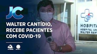 Hospital Walter Cantídio, recebe pacientes com Covid-19 transferidos de Manaus