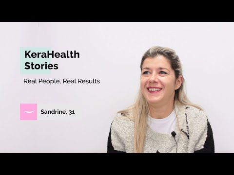 Sandrine's story after 3 months