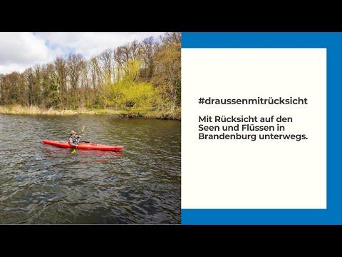 Mit Rücksicht unterwegs auf Seen und Flüssen in Brandenburg