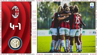 Highlights | AC Milan 4-1 Inter Women | Matchday 6 Women's Serie A 2020/21