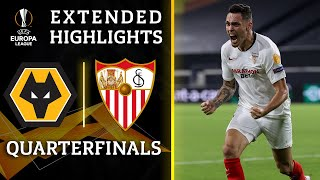 Wolves vs. Sevilla   Europa League quarterfinal highlights   UCL on CBS Sports