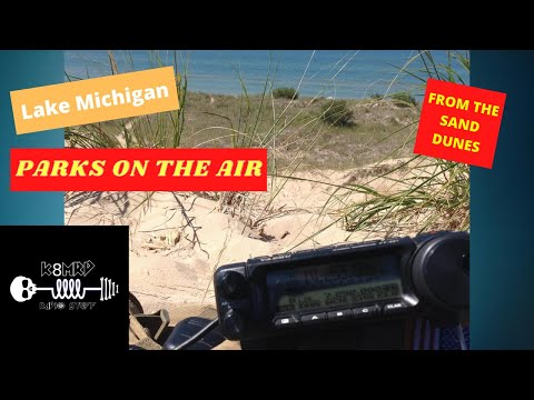 POTA ON THE DUNES OF LAKE MICHIGAN
