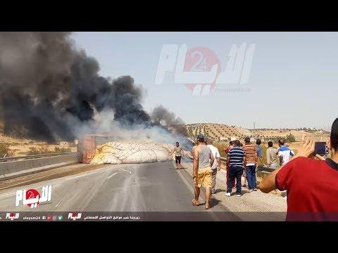 حادثة سير خطيرة بالطريق السيار تازة واد امليل