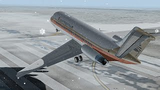 Crashing Immediately After Takeoff in Denver | Cold of Winter | Continental Flight 1713