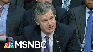 Lawrence On FBI Director Christopher Wray v. Donald Trump World | The Last Word | MSNBC