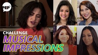 Julie Anne San Jose Does Regine, Lani, Kyla, And Jaya | PEP Challenge