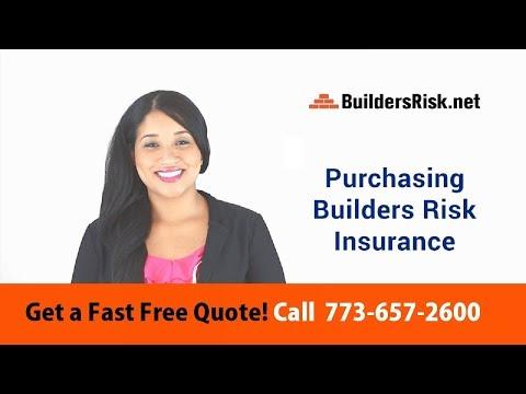 Purchasing Builders Risk Insurance