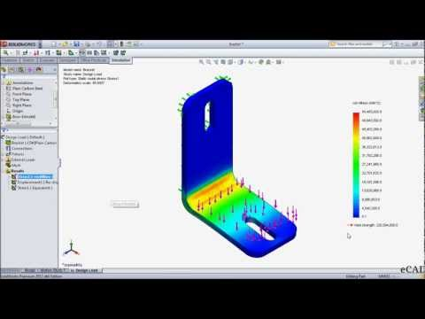 Setting-Up & Running a SolidWorks Simulation Study