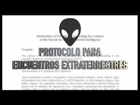 ¿Cuál es el protocolo para encuentros extraterrestres?