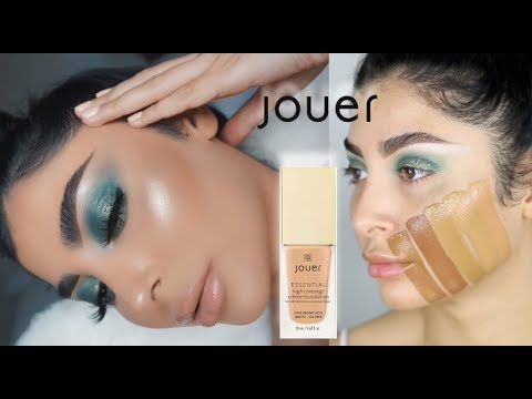 JOUER ESSENTIAL HIGH-COVERAGE FOUNDATION REVIEW & SWATCHES I Nina Vee