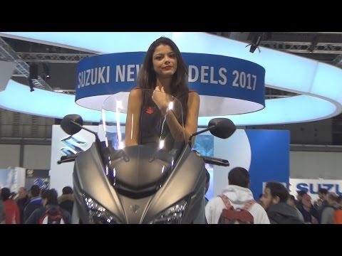 @SuzukiCycles Suzuki Burgman 400 ABS (2017) Exterior and Interior in 3D