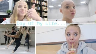 Day In The Life Of A Ballet School Student!